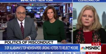 WATCH:  Moore Supporter's Unhinged 'Godly' Rant On Velshi & Ruhle