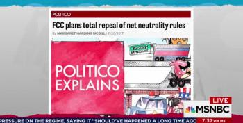Twitter Confirms Maddow's Prediction: Ending Net Neutrality Is A Very Big Deal