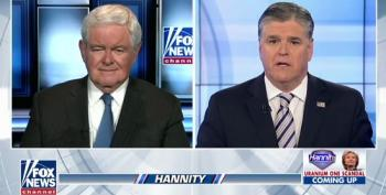 HAH! Hannity Brings On Newt Gingrich To Talk About Sex Scandals