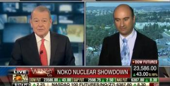 Stuart Varney Weird Interview With Dr Azriel Bermant On Trump's NOKO Rhetoric
