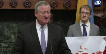 Philly's Mayor: 'Our President Is A Bully And A Punk'