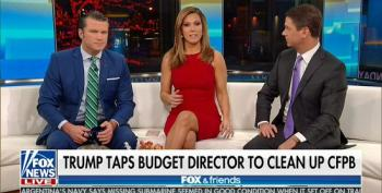 Fox Paints Putting Mulvaney In Charge Of CFPB As 'Draining The Swamp'