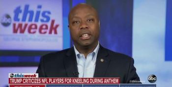 Sen. Tim Scott Refuses To Admit Trump Singles Out Minorities To Pick Fights With