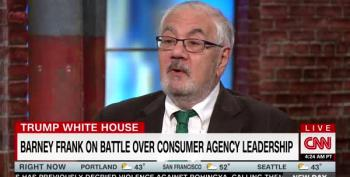 Barney Frank Says Dodd-Frank Specifically Protected CFPB Head