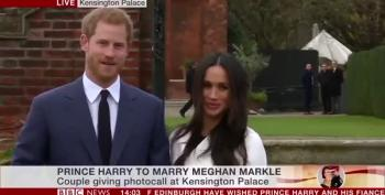 Prince Harry & Meghan Markle's Photocall