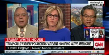 Navajo Nation President: Trump's Use Of Pocahontas Against A Senator 'Is An Ethnic Slur'