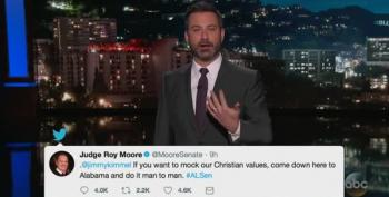 Kimmel To Roy Moore: 'If You're Challenging Me To A Fight, I Accept!'