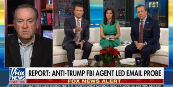 Huckabee Goes After Mueller: There Needs To Be An Investigation Of The Investigation'