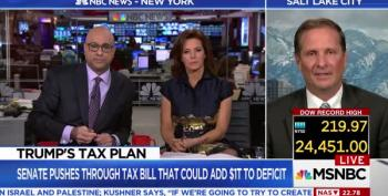 Velshi And Ruhle Grill Utah Republican 'Okay' With Trigger Which WILL Cut Medicare