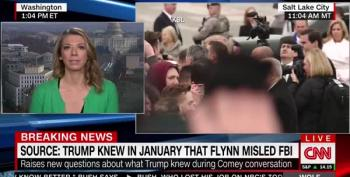 CNN Reporter Confirms Trump Knew That Flynn Lied To FBI In January