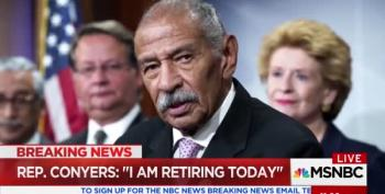 John Conyers Retiring Today