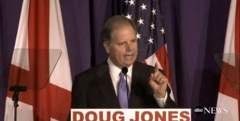 Doug Jones Goes After Moore