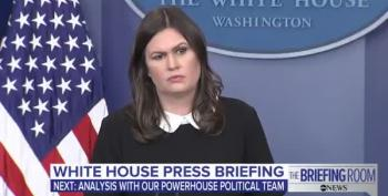 Sarah Huckabee Sanders 'Not Aware' Of Any Plans To Release Trump's Taxes
