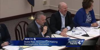 'I Don't Like Men!': Homophobic GOP Lawmaker Freaks Out After Colleague Touches His Arm