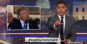 Trevor Noah Trolls Trump With #DentureDonald