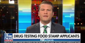 Fox News Decides Today's Newsflash Should Be 'Drug Testing Welfare Recipients'