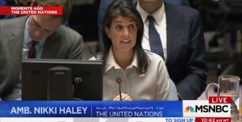 AMB. Nikki Haley Tells U.S.' Strongest Allies, They Have 'No Credibility' To Criticize  Trump's Jerusalem Decision