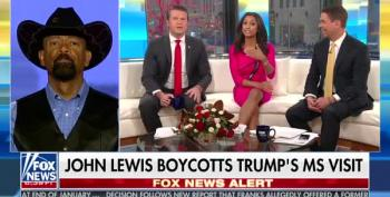 Fox News' Eboni Williams Slams David Clarke For Dissing Rep. John Lewis