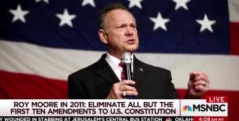 Morning Joe: Roy Moore Would Eliminate Constitutional Amendments After 10th
