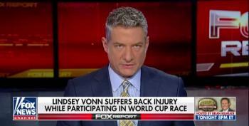 Fox Blames Lindsey Vonn's Injury On Her Dislike Of Trump