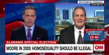 Moore Spox Crushed When Jake Tapper Explains That Bibles Aren't The Only Book For Swearing-In