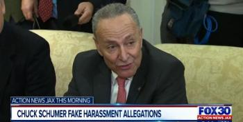 Chuck Schumer Targeted With Fake Sexual Harassment Allegations