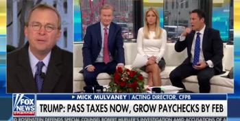 Mick Mulvaney On Tax Bill: Fox News Focuses Only On 'What's Good For You'