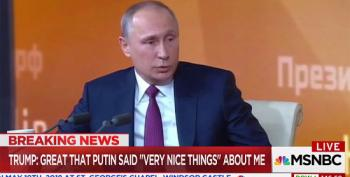 Trump: Great That Putin Said 'Very Nice Things' About Me