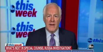 Cornyn On Trump Firing Mueller: 'I Think That Would Be A Mistake Myself.'