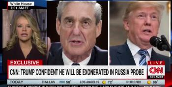 Advisers Shield Trump From Unpleasant Mueller News