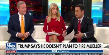Fox And Friends Furious Over Mueller's Legally-Obtained Trump Transition Team Emails