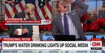 CNN's Chris Cuomo Tells 'President Sippy Cup' To Drink Water 'Like A Man'