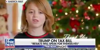 'Thank You, President Trump!': Billionaires Launch Propaganda Ad Blitz After Locking In Tax Cuts