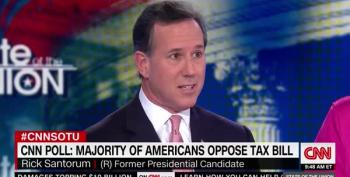 No, Rick Santorum, Trump Didn't 'Get' The Bonuses For AT&T Workers, Their UNION Did.