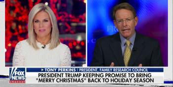 Tony Perkins: Trump Keeping Promise To Bring Back 'Merry Christmas'