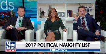 Fox & Friends' Absurd 'Naughty List' Excludes GOP Child Molesters And Money Launderers