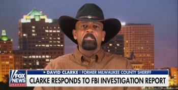 Fox Lets David Clarke Pretend He Was Exonerated By The FBI