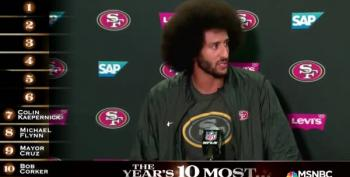 A Good Guy Of The Year:  Colin Kaepernick
