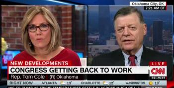 Rep. Tom Cole (R-OK) Blames Democrats For Not Funding CHIP