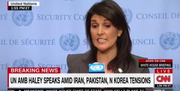 Nikki Haley's Hypocrisy Called Out By Reporter