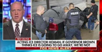 ICE Dir. Thomas Homan Threatens CA Over Sanctuary Law