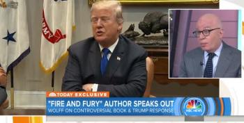'The Biographer Trump Deserves': Michael Wolff Calls Out Trump's Insistence On 'Truth'
