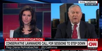 Rep. Dana Rohrabacher Gets Nasty With CNN Reporter