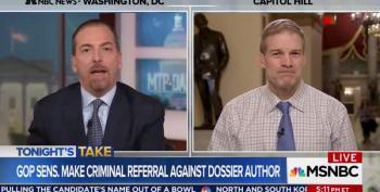 Chuck Todd Takes Jim Jordan To Task For Claim That FBI Agents Are Biased Partisans