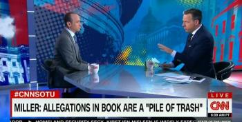 Jake Tapper Cuts Off Stephen Miller After Contentious Interview: 'I've Wasted Enough Of My Viewers' Time!'