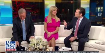 Fox And Friends Crew Orgasms Over Trump's Fake News Awards