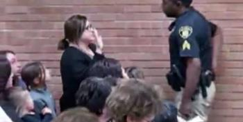 WATCH: Teacher Handcuffed, Arrested After Asking About Pay Inequity