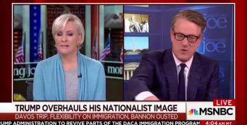 Joe Scarborough: 'Grandpa Kept Wandering' During Immigration Meeting
