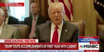 Trump Brags About His Televised Bipartisan Immigration Meeting