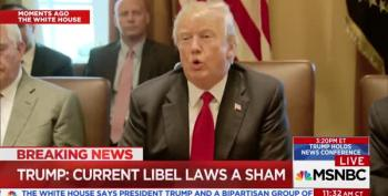 Birther-In-Chief Trump Goes After 'Sham Libel Laws'